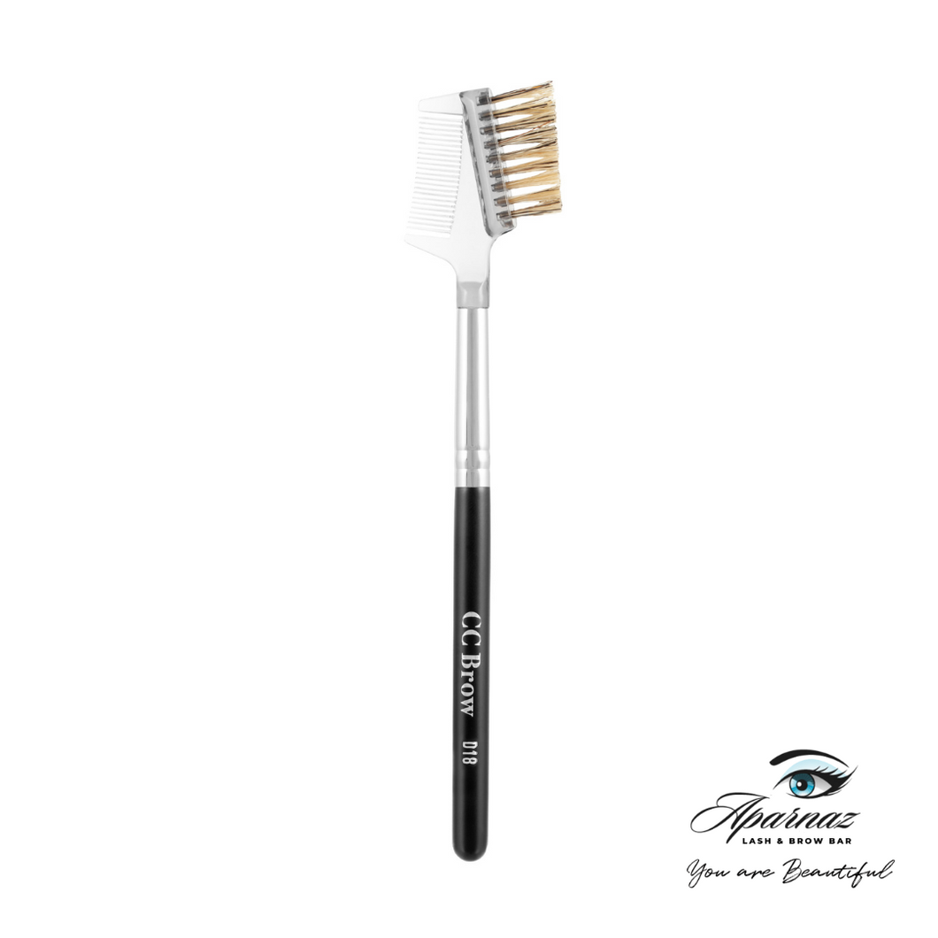 Brush For Eyebrows With A Comb