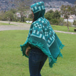 Load image into Gallery viewer, gifts for mother, alpaca wool poncho, wholesale alpaca poncho, alpaca fashion accessories