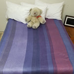 Load image into Gallery viewer, cozy bedroom accessories, alpaca blanket, striped boho blanket