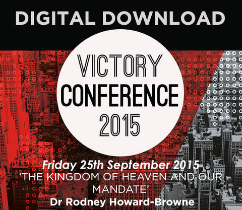 2015 Victory Conference - Friday Audio Download