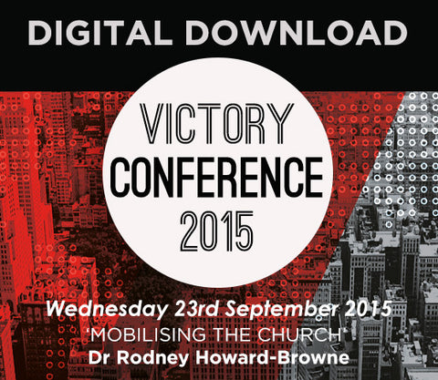 2015 Victory Conference - Wednesday Audio Download