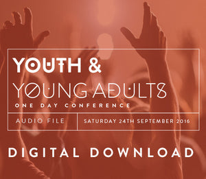 2016 YAYA Conference - Saturday Morning 1 Digital Download