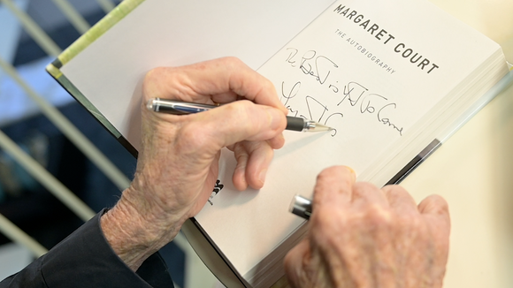 Signed Autobiography by Ps. Margaret Court