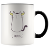 Taurus Cat Coffee Mug, 11oz