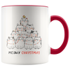 Meowy Christmas Cat Mug (11oz)
