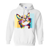 Hope Cute Colorful Cat Hoodie (Unisex)