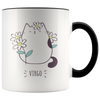 Virgo Cat Coffee Mug, 11oz