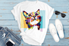 Hope Colorful Pop Art Cute Cat Shirt