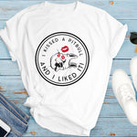 I Kissed A Pitbull And I Liked It Funny Dog Shirt (4 Colors)