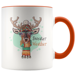 Sweater Weather Boho Reindeer Mug (11oz)