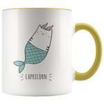 Capricorn Cat Coffee Mug, 11oz