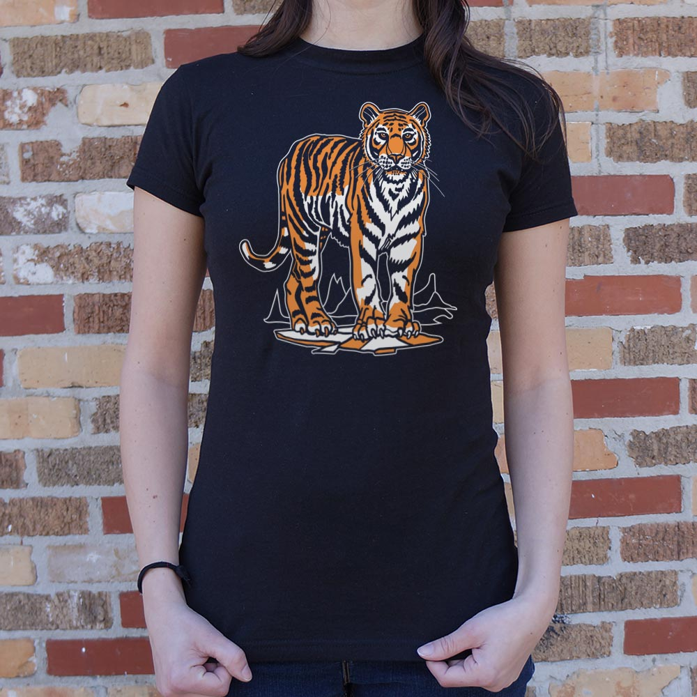 Tiger T-Shirt (Ladies)