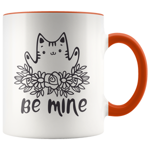 Be Mine Cute Cat Mug, 11oz