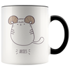 Aries Cat Coffee Mug, 11oz