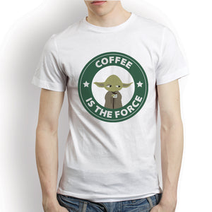 Coffee Is The Force Funny Starbucks Yoda Star Wars Shirt (5 Colors)