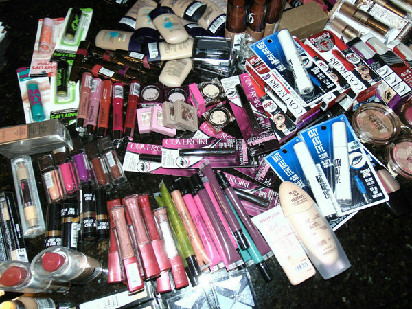 Big brand makeup cosmetics mixed assorted wholesale No Repeat Lot of 28 Pcs