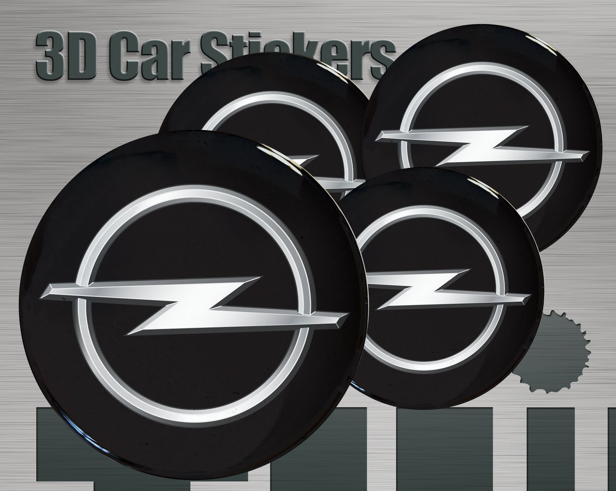 Wheel stickers Nissan imitation all size Centre Cap Logo Badge Wheel Trims 3d 53mm.