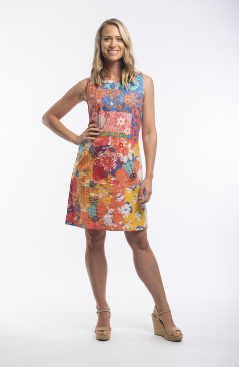 Pamplona Sleeveless Dress