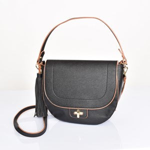 Deep Saddle Shoulder Bag