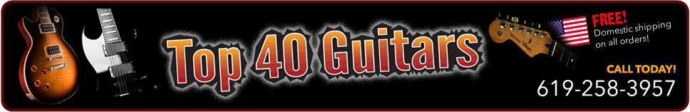Top 40 Guitars