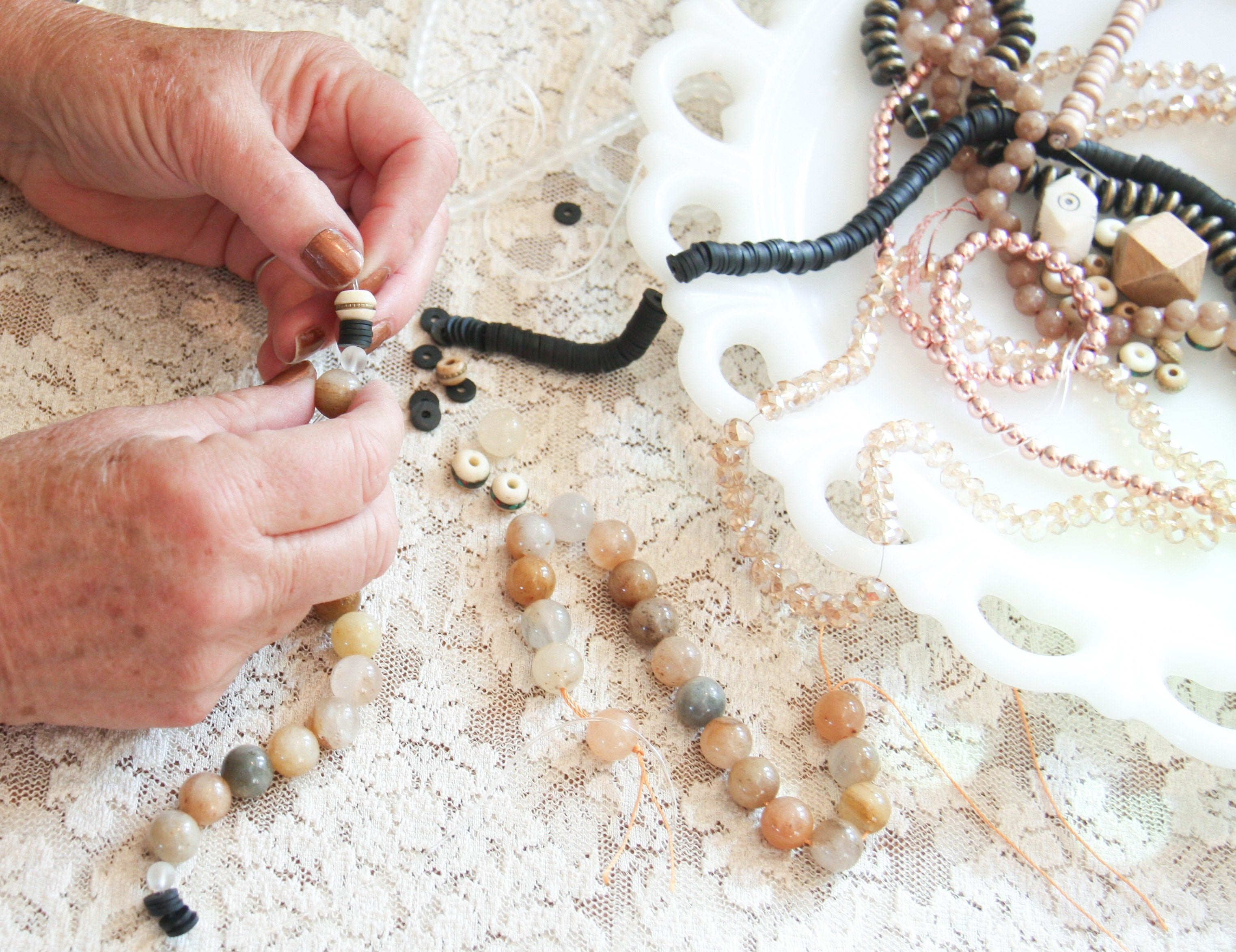 Vintage Revisted beaded jewelry making
