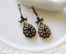 Load image into Gallery viewer, Sapphire Earrings