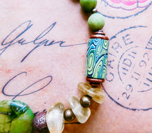 Load image into Gallery viewer, Eclectic Turquoise Bracelet