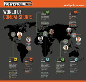 Infographic - World of Combat Sports