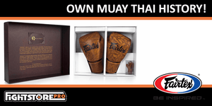 A rare opportunity to own a piece of Muay Thai history...