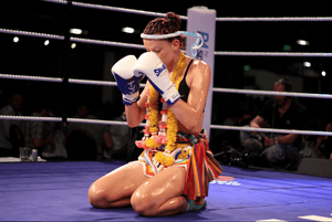 Female Thai boxer of the month: Sheree Halliday