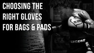 Choosing the best fight gloves to use on Bags and Pads for Boxing, MMA, Muay Thai and more
