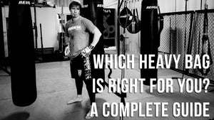 Choosing the Right Heavy Punch Bag (or Kick Bag)