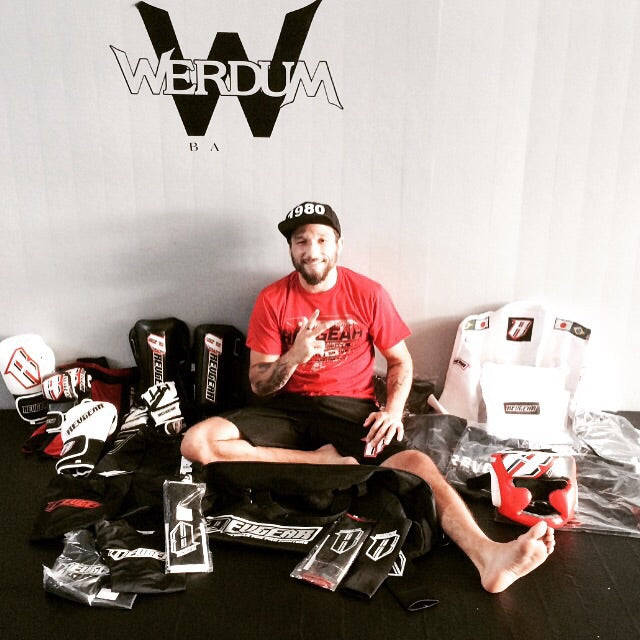 Luiz Tosta Fightstore Pro and Revgear sponsored fighter