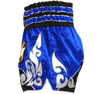 D.E Fit Special Muay Thai Shorts - Blue
