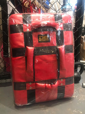 Danger Equipment Thai Kick Shield - Red