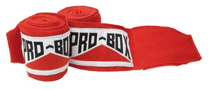 Pro Box Red A.I.B.A Specification Stretchable Hand Wraps Junior