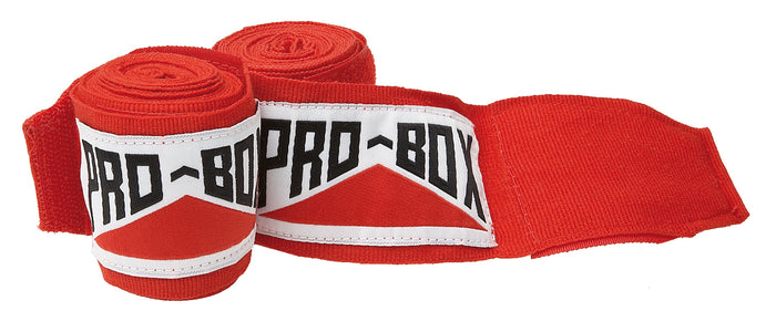 Pro Box Red AIBA Specification Stretchable Hand Wraps Senior