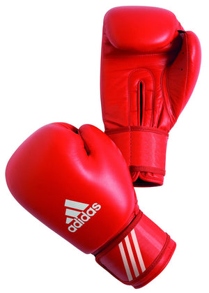 Adidas AIBA Licensed Amateur Contest Gloves - Red - Fightstore Pro