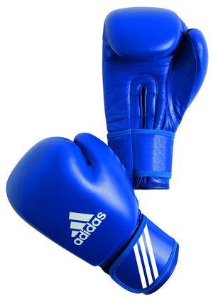 Adidas AIBA Licensed Amateur Contest Gloves - Blue - Fightstore Pro
