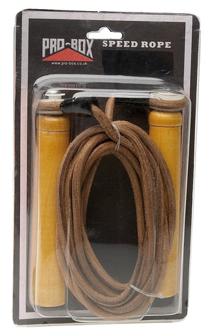 Pro Box Leather Speed Ropes