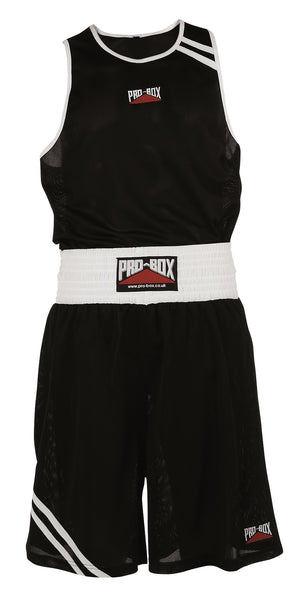 Pro Box Club Essentials Boxing Shorts - Black