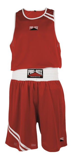 Pro Box Club Essentials Boxing Shorts - Red