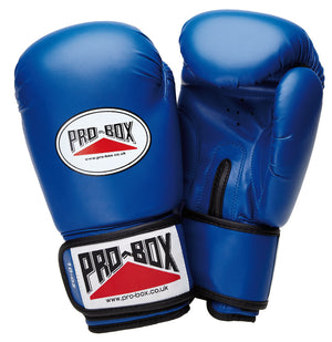 Pro Box Junior Sparring Gloves Blue