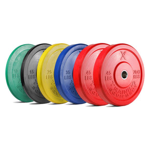 Rocksolid Olympic Bumper Weights PAIRS (5kg-25kg) - Fightstore Pro