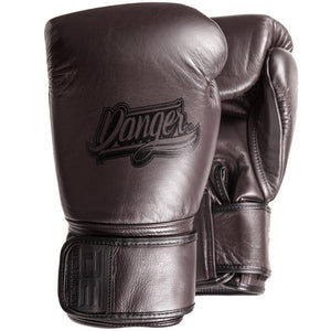 Danger Equipment Thai Legend Leather Boxing Gloves - Coffee - Fightstore Pro