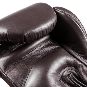 Danger Equipment Thai Legend Leather Boxing Gloves - Coffee