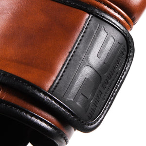 Danger Equipment Thai Legend Leather Boxing Gloves - Vintage - Fightstore Pro