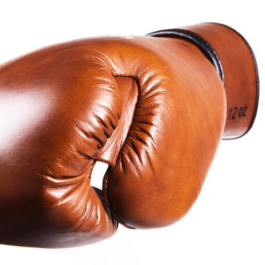 Danger Equipment Thai Legend Leather Boxing Gloves - Vintage