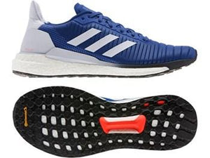 Adidas Solar Glide 19 M Running Shoes - Blue - Fightstore Pro