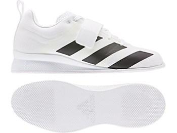 Adidas AdiPower Weightlifting Shoes - White